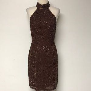 "Vintage ""Niteline Della Roufogali"" Brown Formal"